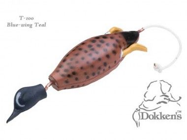 Dokkens Dead Fowl Blauflügelente (Bluewing Teal) klein