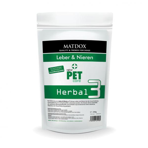 Herbal 3 Leber & Nieren Kräutermischung