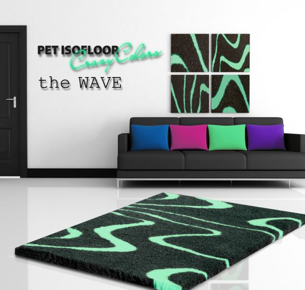 PET ISOFLOOR SX theWAVE Mint