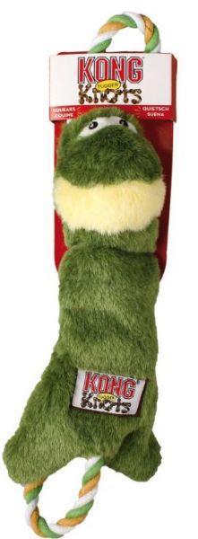 KONG Tugger Knots Frosch S/M