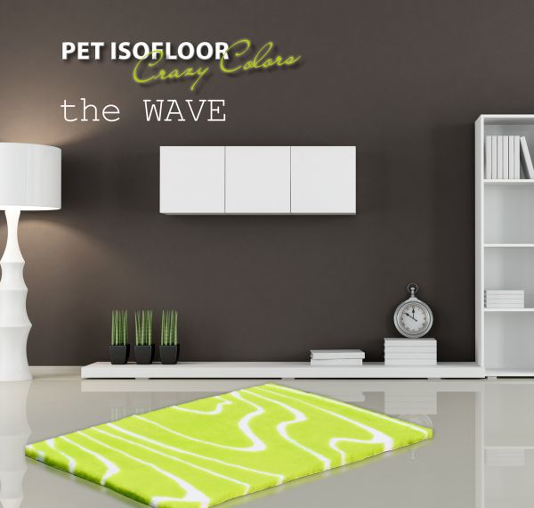 PET ISOFLOOR SX theWAVE Lime