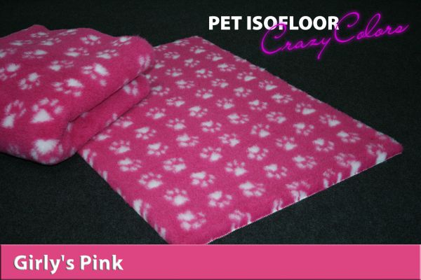 PET ISOFLOOR SX Girly's Pink